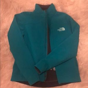 Teal The North Face Shell Jacket